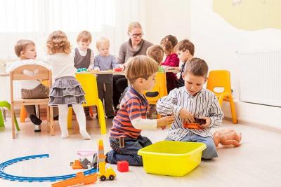 Работа детских садов