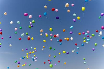 Запрет на запуск воздушных шаров